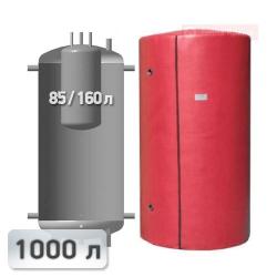 Акумуляційна ємність із вбудованим бойлером Kuydych ЕАВ-00-1000 1000 л