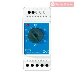 Терморегулятор на DIN-шину OJ Electronics ETV-1991
