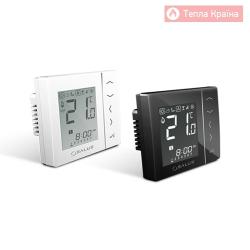 Безпровідний кімнатний термостат з цифровою індикацією 4 в 1, 230V Salus VS10 RF, чорний/білий