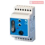 Терморегулятор на DIN-шину OJ Electronics ETN/F-2P-1441