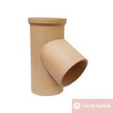 Трійник керамічний 45°