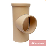 Трійник керамічний 90°