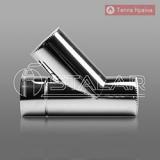 Трійник TERMO 45° нерж/нерж 0,8мм AISI 304