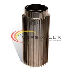 Труба-радіатор 0,5м ф110 0,8мм